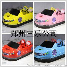 广东台山儿童双人保时捷碰碰车广场公园玩具设备