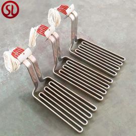 炸鸡用耐高温扁电热管 发热金属管油炸锅用U型