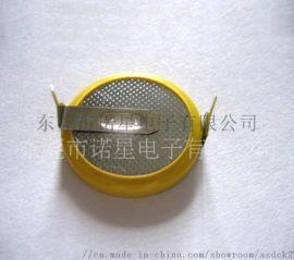 供应高品质锂锰电池CR2025 纽扣电池 焊脚电池