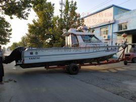 10米铝合金钓鱼艇海钓船 豪华小型游艇专业钓鱼船