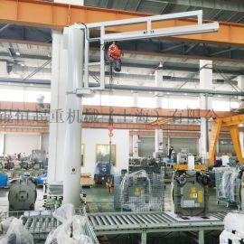厂家直销立柱式悬臂吊单梁定柱悬臂起重机小型悬臂吊