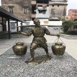 廣州古代人物雕像定做 古代人物玻璃鋼雕像圖片
