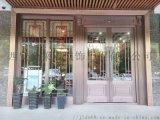 金莱盾 西安玻璃铜门厂家 工程铜门批发