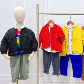 广州品牌童装折扣货源,草莓家族品牌童装库存走份
