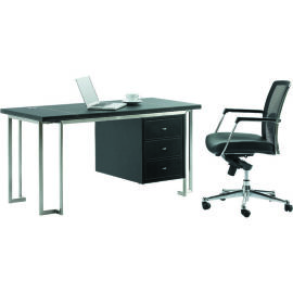 简约现**公桌 SKZ312办公桌 实木办公桌