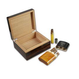 定制全手工制作2020新款自然拼花木制  盒烟盒