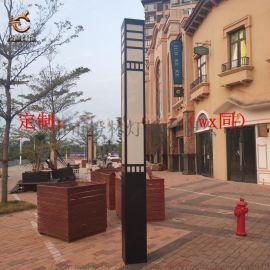 小区庭院门口立柱灯商业街景观灯欧式亚克力落地灯
