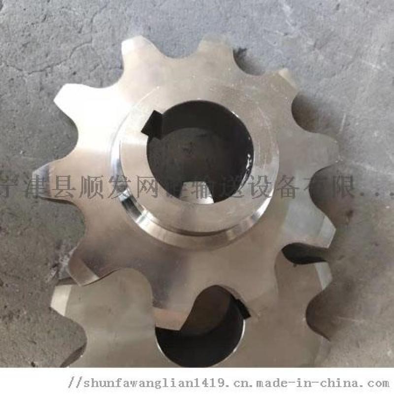08b單排雙排大節距鏈輪