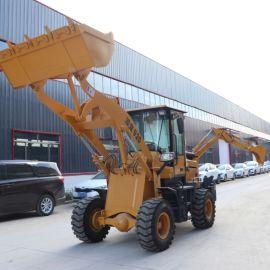 厂家液压多功能两头忙 全新果园小型挖掘装载机