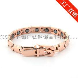 名饰汇工厂供应钛钢手链 不锈钢手链 钨钢手链