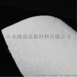 复合涤纶长丝防水无纺土工布 道路工程白色土工布