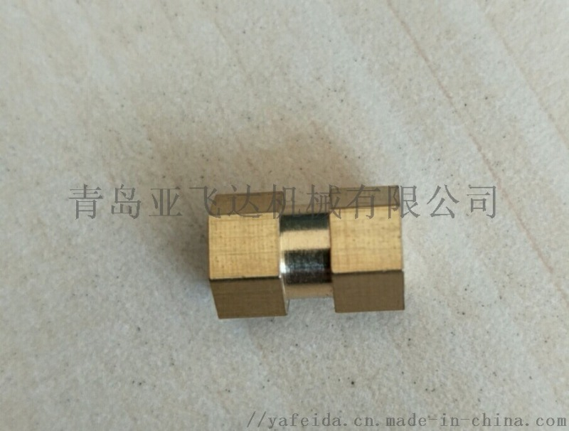 注塑用铜螺母 自动车加工