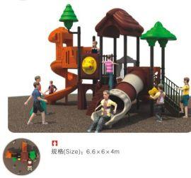 海口市组合儿童滑梯厂家,儿童玩的游乐设备户外大型滑梯