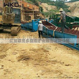 螺旋洗砂机厂家双螺旋洗石机生产线 小型沙石粉水洗机