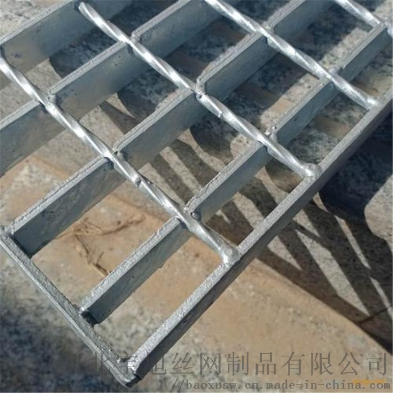 鋼格板廠家供應於建築工地,電廠,水廠