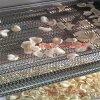 全自動蝦片蝦條油炸線 小膨化油炸加工設備