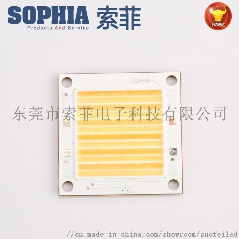 高显指COB灯珠50W大功率面光源COB集成LED光源双色COB