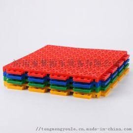 学校运动地板拼装地板防滑耐用幼儿园室外拼装地板