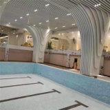龍門弧形鋁方通設計特點 波浪線弧形鋁方通室內裝修