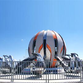 星际穿越游艺设施 新款24座球形飞机游乐项目