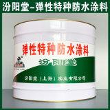 弹性特种防水涂料、涂膜坚韧、弹性特种防水涂料