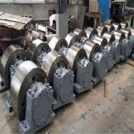 JKΦ550x220铸钢调质热处理节能环保带加强筋煤泥烘干机托轮