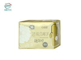 负离子卫生巾厂家直销OBB负离子卫生巾