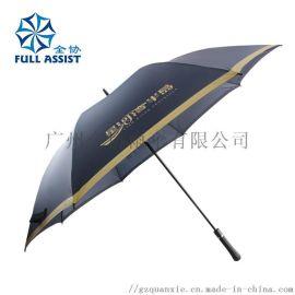 好质量全纤维直骨广告雨伞,高尔夫球广告伞