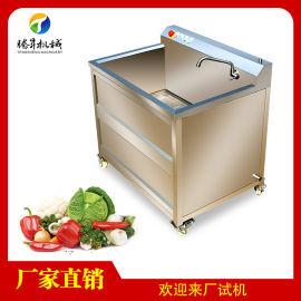 小型单双缸洗菜机 水果清洗机TS-AZ