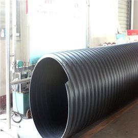 厂家供应 碳钢 钢带增强型PE螺旋缠绕波纹管