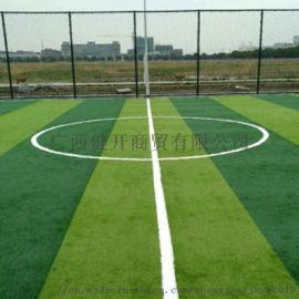 北海厂家直销学校运动场草坪足球场人造草坪可施工定制