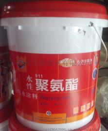 若贝尔久固防水911单组份水性聚氨酯防水涂料