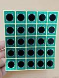 可逆型变色测温贴片/测温贴/温度纸/重复使用温度标签/NCW1-55