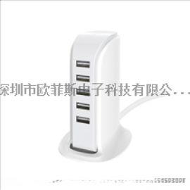 深圳市欧菲斯电子科技 车载充电器手机苹果PD快充安卓QC3.0旅行充电器