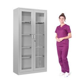 SKH073 不锈钢医疗器械柜 器皿柜 文件柜