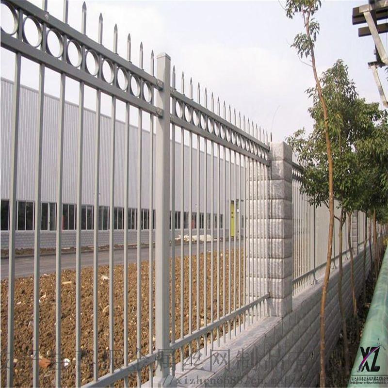 北京学校围墙护栏颜色锌钢护栏售后保障