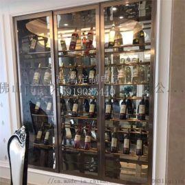 不锈钢酒柜,不锈钢酒架(查看)