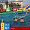 大型水上樂園設備廠家兒童動漫水世界充氣闖關衝關游泳池戶外玩具