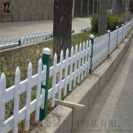 花壇圍欄草坪護欄,供應草坪護欄柵欄,塑鋼草坪護欄廠