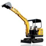 厂家直销化粪池挖坑机 全新小型履带式农用挖掘机