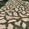 天然碎拼板岩 青石板碎拼 灰色板岩乱形石