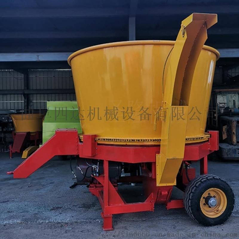 大型草捆粉碎机,圆盘草捆粉碎机厂家直销