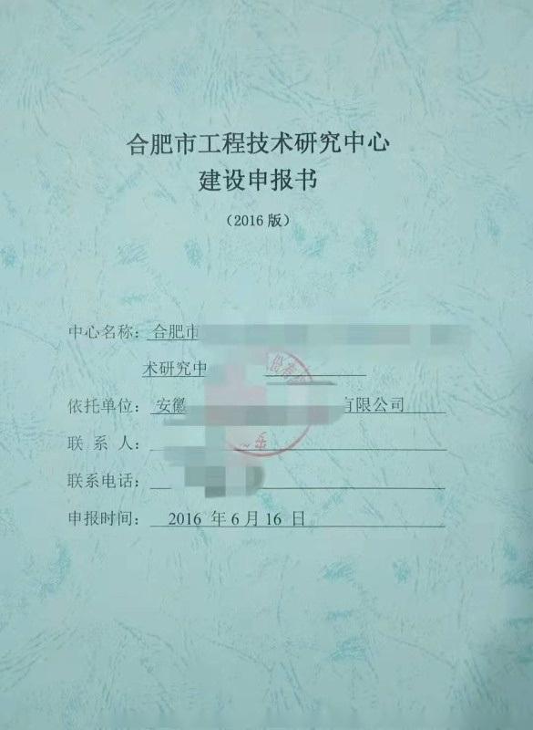 安徽省合肥市可行性研究报告****机构