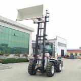 多功能越野叉车3吨厂家   型号齐全整车