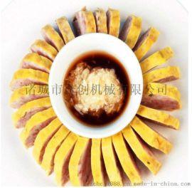 烤鸭饼皮机 春卷皮机 荷叶饼机 省人工 产量高
