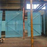 全钢安全防护围网 钢性爬架网 冲孔防护网