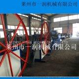 供應PET拉絲機械 掃把絲圓絲拉絲機生產線