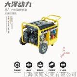 大泽动力15kw开架汽油发电机TO16000ET
