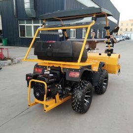 捷克供应 除雪车 座驾式扫雪车 四轮小型除雪车