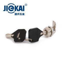 JK312 12MM轉舌鎖 梅花擋片鎖 廣告箱鎖